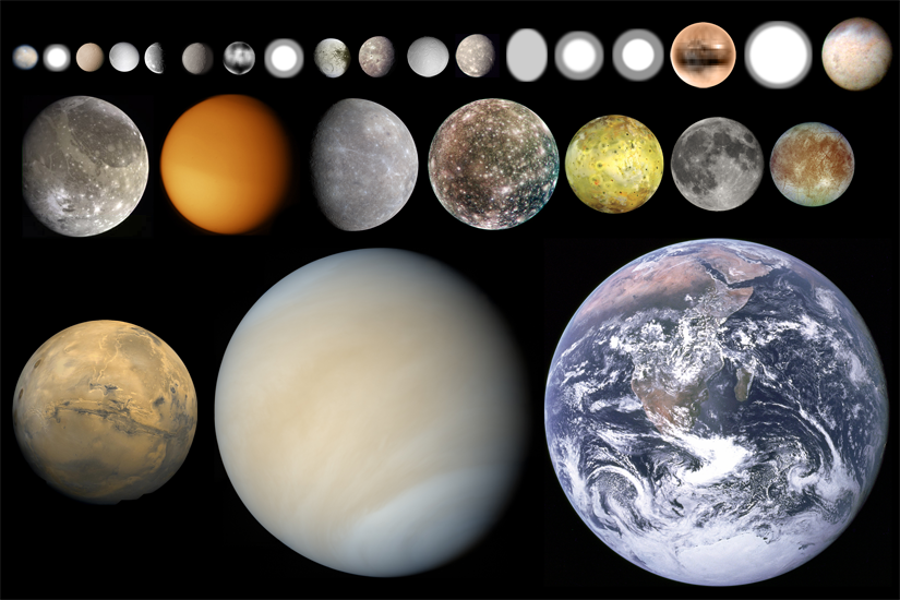 The Big Rocks of the Solar System