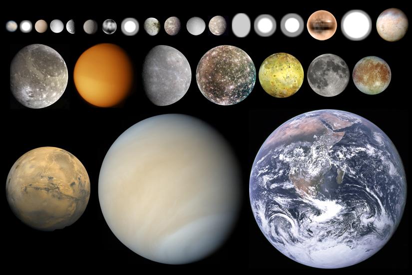 the solar system moon rocks - photo #15